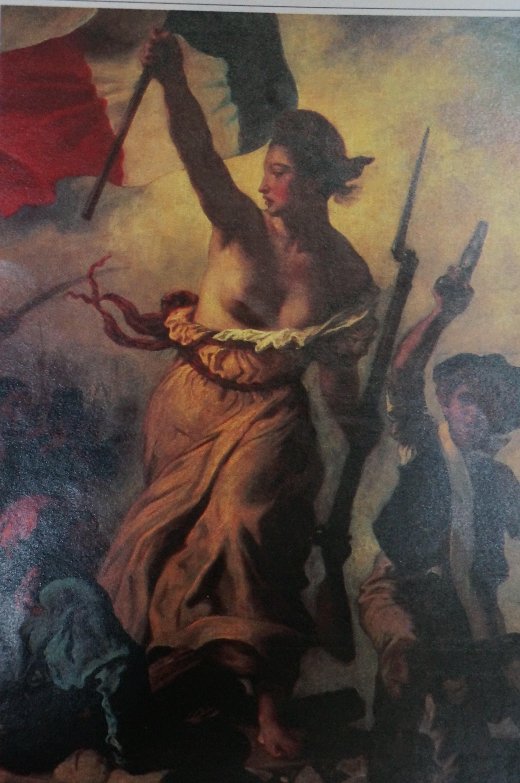 自由 率いる 女神 の を 民衆