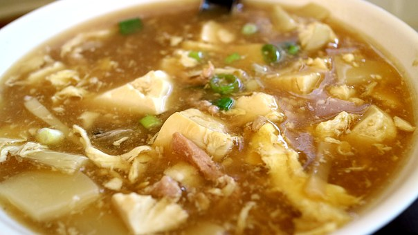 1豆腐スープ